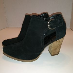 Franco Firtini Black Suede  Booties